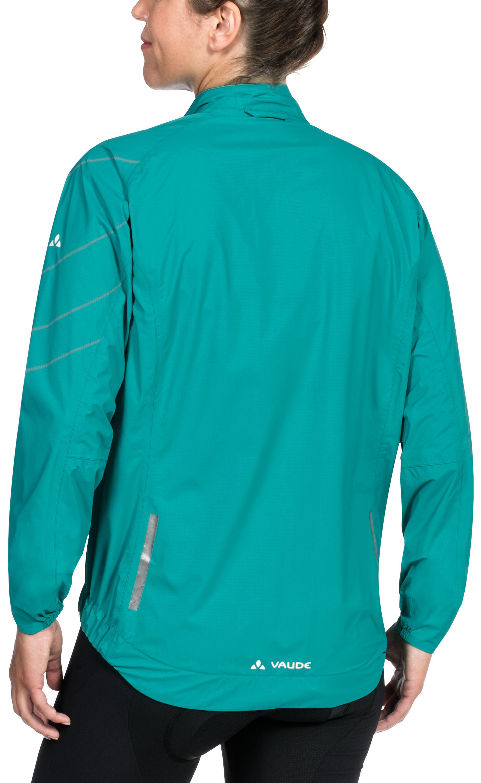 Vaude Umbrail Jacket Women Turquoise At Bikester Co Uk